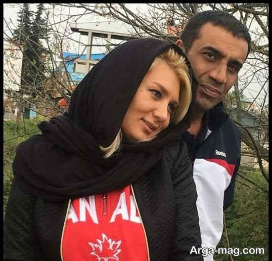عکس های نصرالله رادش و همسرش