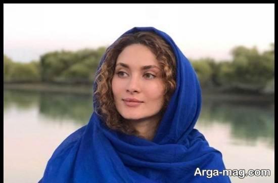 عکس های ساناز سعیدی بازیگر سریال نفس