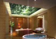 انواع نمونه های طرح سقف حمام و سرویس بهداشتی