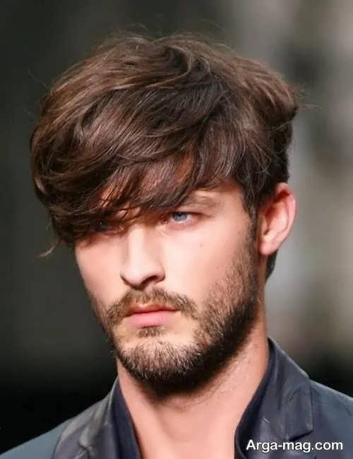 ریش کوتاه برای صورت های لاغر