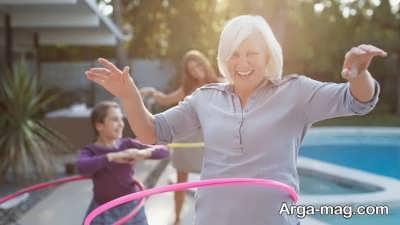 افزایش سلامتی با حلقه زدن