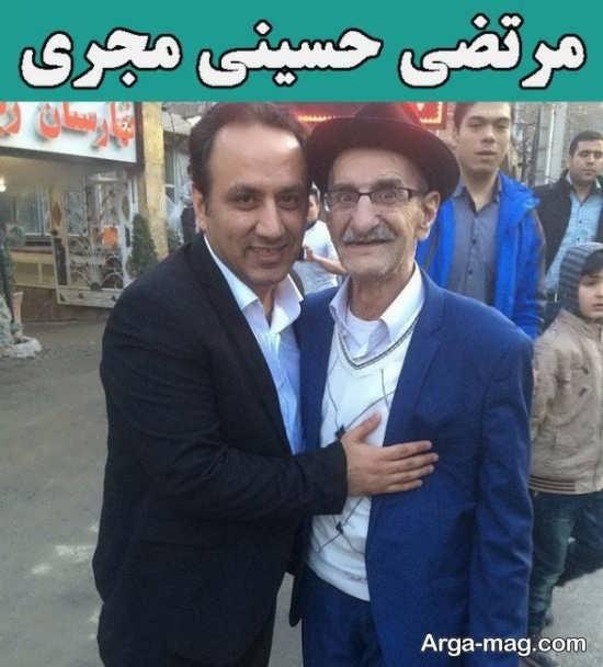 بیوگرافی سید مرتضی حسینی+ گالری جدید