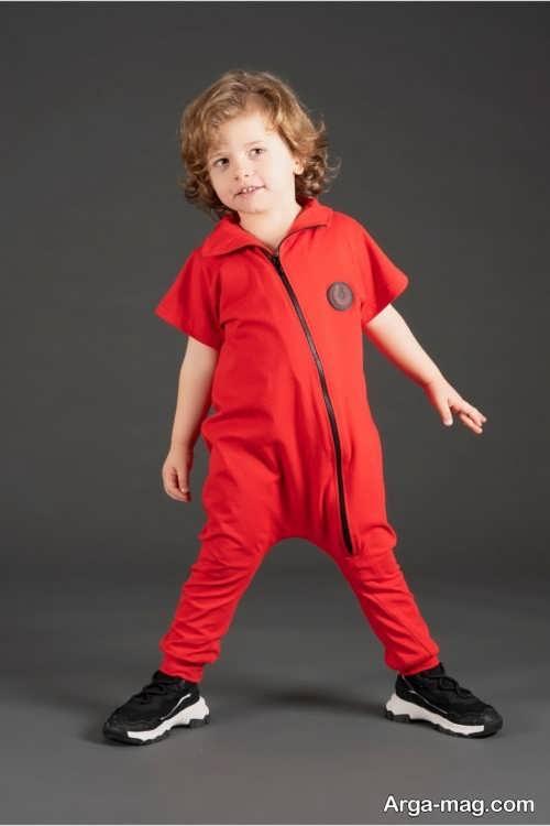 مدل سرهمی پسرانه قرمز