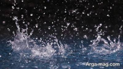 کپشن درباره باران