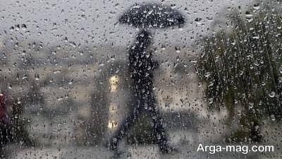 کپشن پرمحتوا درباره باران