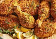 طرز تهیه خوراک ران مرغ عالی