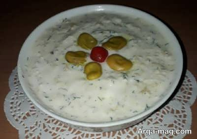 دستور تهیه بورانی باقلا