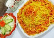 انواع جدیدی از تزیین هویج پلو