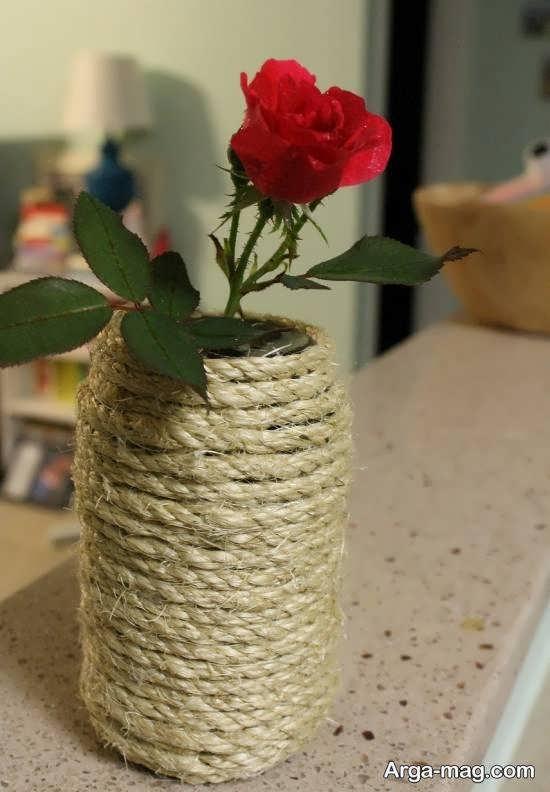طرح هایی دوست داشتنی از دیزاین گلدان با کنف