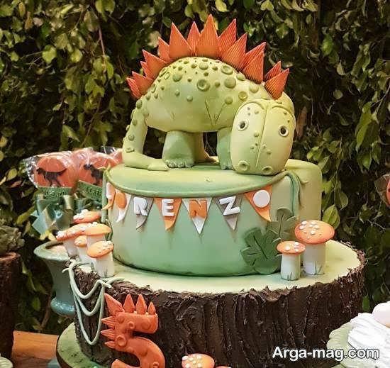 ایده های کاربردی و شیک از تم تولد دایناسور