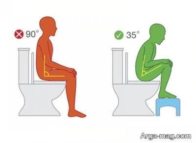 عیوب توالت فرنگی
