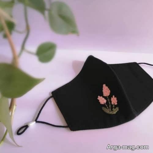 ماسک گلدوزی زیبا
