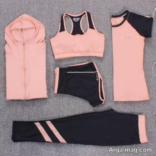 ست لباس ورزشی دخترانه شیک