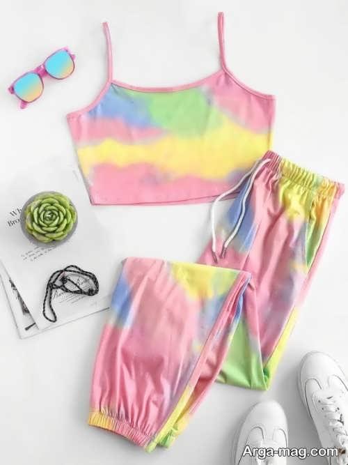 لباس ورزشی شیک دخترانه