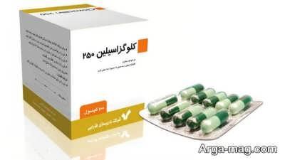 عوارض جانبی کپسول گلوکزاسیلین
