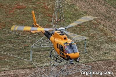 خصوصیات بارز هلیکوپتر ها