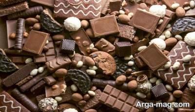 شکلات و کالری آن