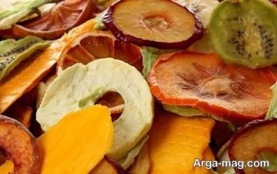 میوه های خشک شده کالری بیش تری دارند.
