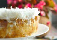 آموزش طرز تهیه کیک نارگیلی خیس