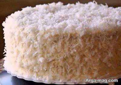 طرز تهیه کیک نارگیلی خیس خوش طعم