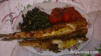 طرز تهیه ماهی حسون