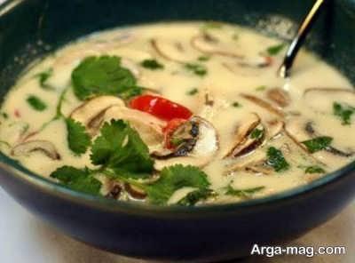 طرز پخت سوپ نارگیل خوشمزه