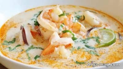 طرز تهیه سوپ نارگیل مقوی