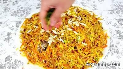آموزش روش تهیه نارنج پلو