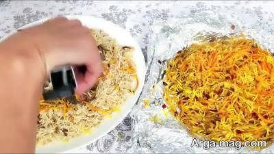 طرز پخت نارنج پلو یک غذای افغانی لذیذ