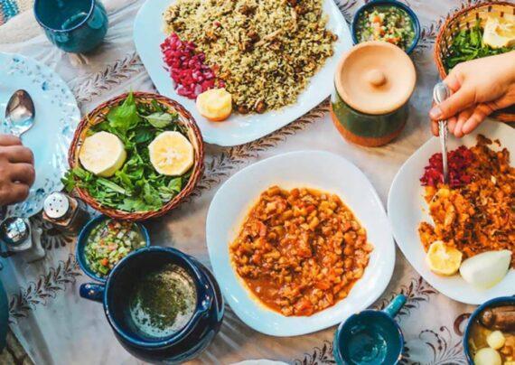 آموزش طرز تهیه غذای سنتی ایرانی