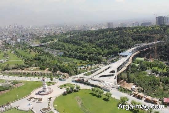 باغ و دریاچه هنر تهران با دو آمفی تئاتر