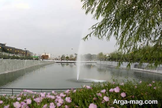 باغ و دریاچه هنر تهران دارای دو آمفی تئاتر