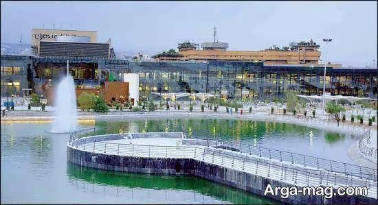 باغ و دریاچه هنر تهران از جاذبه های تازه تاسیس