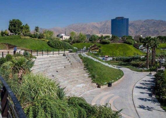 باغ و دریاچه هنر تهران دو پدیده ی جاذبه ای