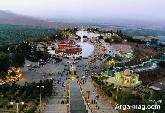 باغ و دریاچه هنر تهران با کلی امکانات