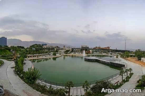 آشنایی با باغ و دریاچه هنر تهران