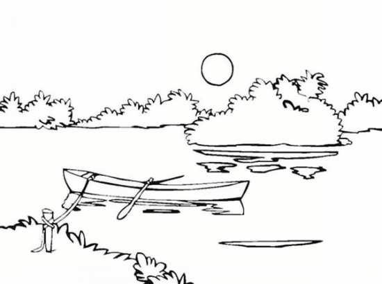 نقاشی منظره مخصوص کودکان