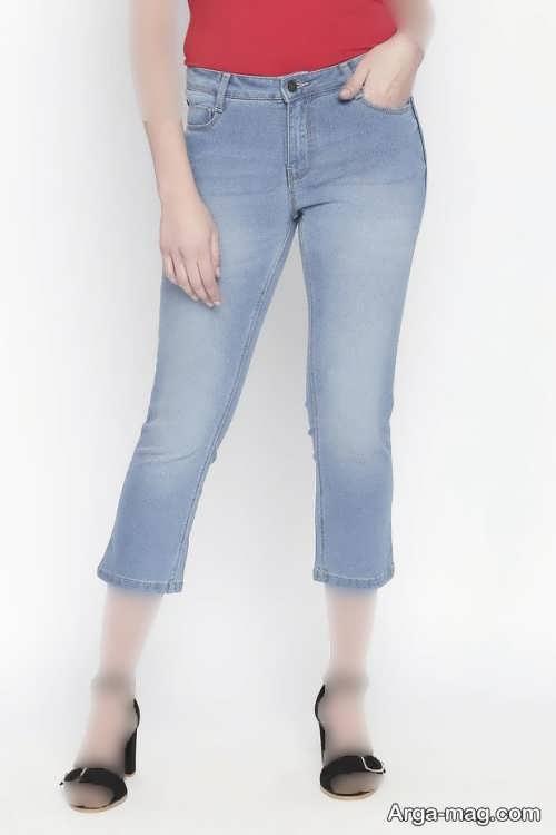 شلوار فاق کوتاه زنانه