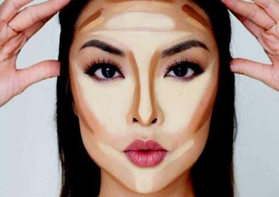 آرایش برای بینی پهن