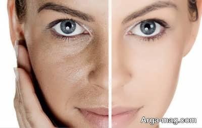 آرایش برای پوست با منافذ باز