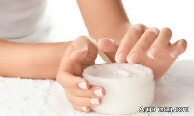 ماسک برای رفع کدری پوست دست