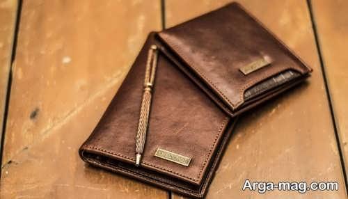 مدل کیف جیبی مردانه قهوه ای