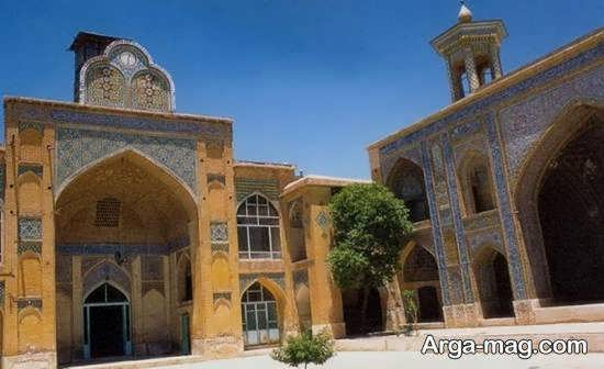 مسجد مشیر شیراز با معماری زیبای قاجاریه
