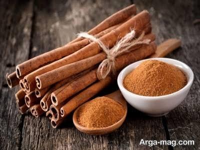 رنگ مو طبیعی برای ابرو با عسل و دارچین