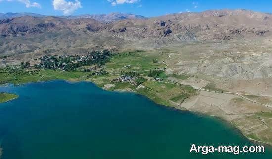 آشنایی با دریاچه سد نمرود روستای سله بن