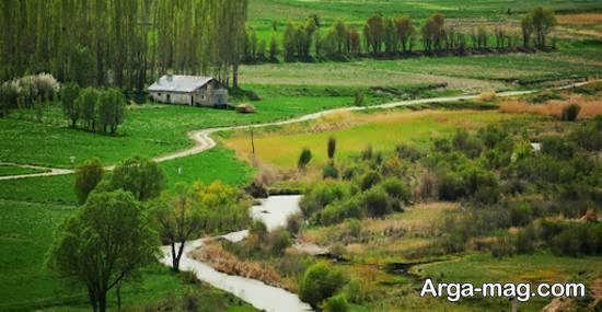 معرفی دریاچه سد نمرود از جاذبه های فیروزکوه