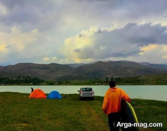 دریاچه سد نمرود و قدمت و جغرافیای آن
