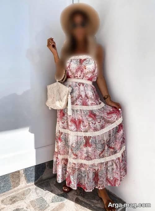 مدل سارافون زنانه بلند
