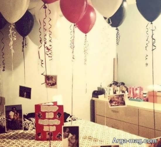 ایده سورپرایز تولد عاشقانه