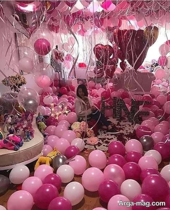 ایده های زیبا و متفاوت سورپرایز تولد عاشقانه
